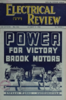Electrical Review, Vol. 137, No. 3536