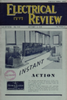 Electrical Review, Vol. 137, No. 3542