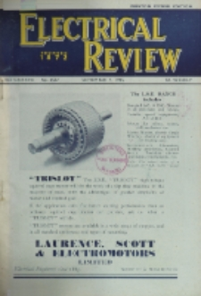 Electrical Review, Vol. 137, No. 3537