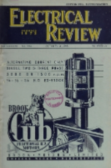 Electrical Review, Vol. 137, No. 3544