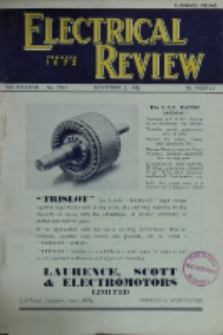 Electrical Review, Vol. 137, No. 3545