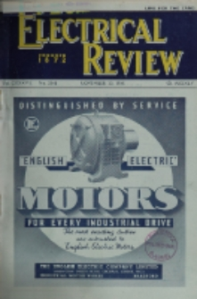 Electrical Review, Vol. 137, No. 3548