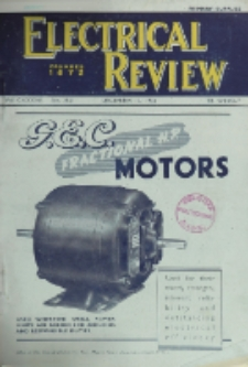 Electrical Review, Vol. 137, No. 3551