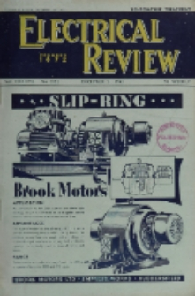 Electrical Review, Vol. 137, No. 3552