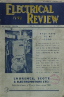 Electrical Review, Vol. 134, No. 3465