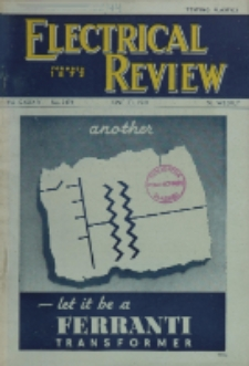 Electrical Review, Vol. 134, No. 3474