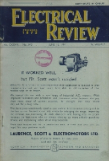 Electrical Review, Vol. 134, No. 3473