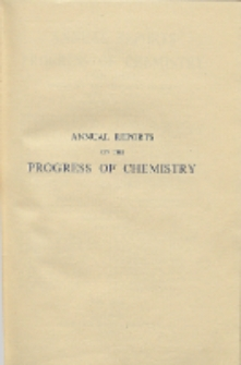 Annual Reports on the Progress of Chemistry for 1944, Vol. 41