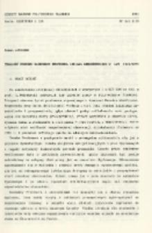 Trwałość dorobku naukowego profesora Lucjana Nehrebeckiego z lat 1961/1971