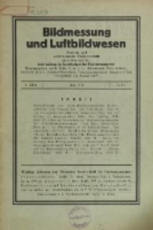 Bildmessung und Luftbildwesen, Jg. 6, H. 2