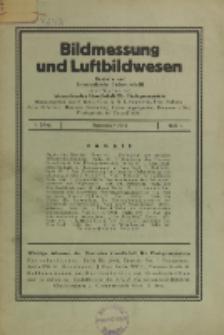 Bildmessung und Luftbildwesen, Jg. 6, H. 3