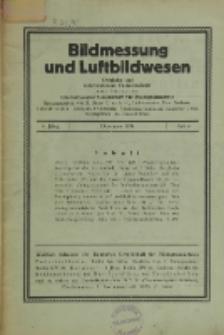 Bildmessung und Luftbildwesen, Jg. 6, H. 4