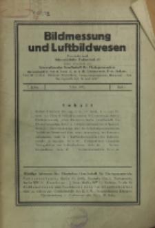 Bildmessung und Luftbildwesen, Jg. 7, H. 1