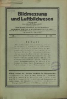 Bildmessung und Luftbildwesen, Jg. 7, H. 4