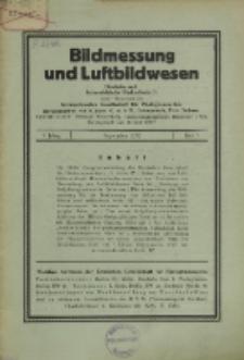 Bildmessung und Luftbildwesen, Jg. 7, H. 3