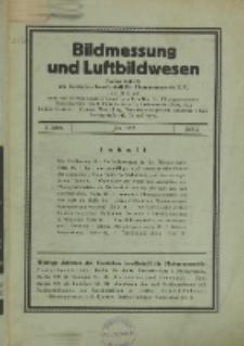 Bildmessung und Luftbildwesen, Jg. 8, H. 2