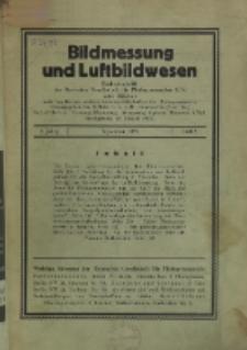 Bildmessung und Luftbildwesen, Jg. 8, H. 3