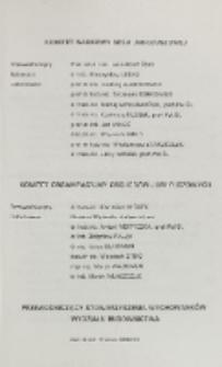 Komitet Naukowy Sesji Jublieuszowej