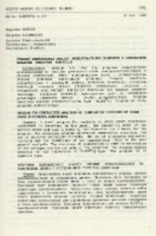 Program komputerowej analizy przekształtników diodowych z uogólnionym badaniem struktury komutacji