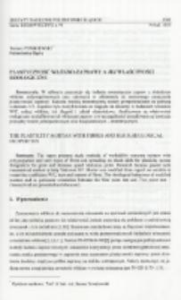 Plastyczność włókno-zaprawy a jej właściwości reologiczne