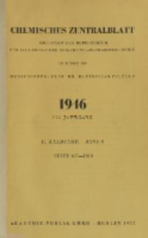 Chemisches Zentralblatt : vollständiges Repertorium für alle Zweige der reinen und angewandten Chemie, Jg. 117, Hb. 2, Bd. 6, Nr. 5/6