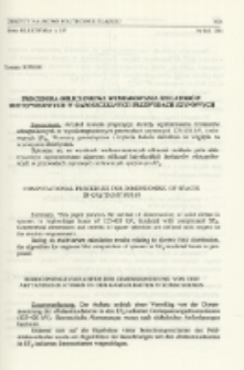Procedura obliczeniowa wymiarowania izolatorów odstępnikowych w gazoszczelnych przewodach szynowych