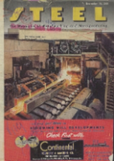 Steel : production, processing, distribution, use, Vol. 119, No. 14