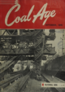 Coal Age : devoted to the operating, technical and business problems of the coal-mining industry, Vol. 51, No. 9