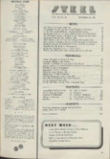 Steel : production, processing, distribution, use, Vol. 119, No. 22
