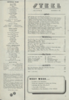 Steel : production, processing, distribution, use, Vol. 119, No. 24