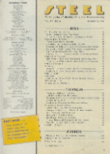 Steel : production, processing, distribution, use, Vol. 119, No. 26