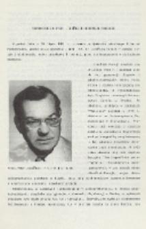Wspomnienie o prof. Jindřichu (Henryku) Forejcie