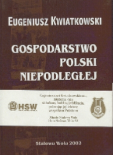Gospodarstwo Polski niepodległej w okresie międzywojennym 1919-1939