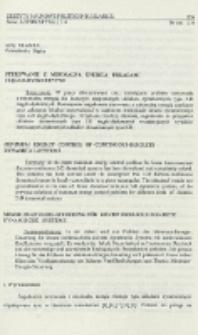 Sterowanie z minimalną energią układami ciągło-dyskretnymi