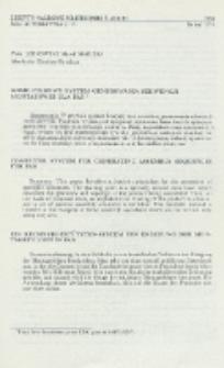 Komputerowy system generowania sekwencji montażowej dla FAS