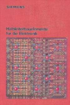 Halbleiterbauelemente für die Elektronik