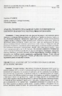 Analiza teoretyczna zagęszczania nawodnionych gruntów ziarnistych metodą mikrowybuchów