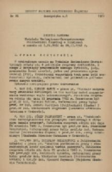 Kronika naukowa Wydziału Mechanicznego-Energetycznego Politechniki Śląskiej w Gliwicach w czasie od 1.IV.1960 do 28.II.1961 r.