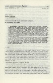 """Wybieranie pokładów silnie zagrożonych tąpaniami na przykładzie KWK """"Wawel"""""""