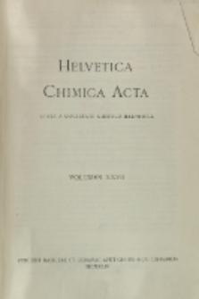 Helvetica Chimica Acta, Vol. 27, Fasc. 5