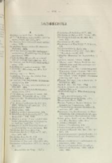 Helvetica Chimica Acta, Vol. 28, Sachregister