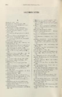 Helvetica Chimica Acta, Vol. 29, Sachregister