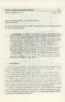 Separacja drobnouziarnionych pirytów z mieszanin dwu- i trójskładnikowych na stole koncentracyjnym