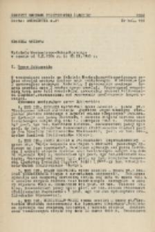 Kronika naukowa Wydziału Mechanicznego-Energetycznego Politechniki Śląskiej w Gliwicach w czasie od 1.X.1964 do 15.II.1966 r.