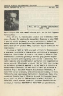 Prof. dr inż. Zygmunt Ciechanowski