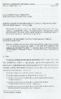 Harmonogramowanie robót budowlanych z wykorzystaniem metody równoległo-potokowej