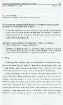 Zastosowanie modeli uproszczonych w cyfrowych układach sterowania ze sprzężeniem od stanu