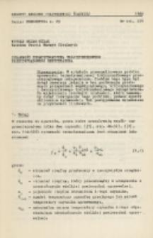 Sprawność termodynamiczna trójczynnikowego przeciwprądowego rekuperatora