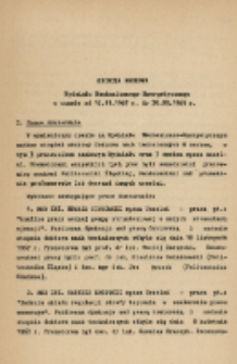 Kronika naukowa Wydziału Mechanicznego Energetycznego w czasie od 16.11.1967 r. do 30.09.1969 r.