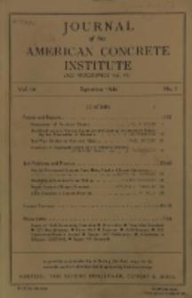Journal of the American Concrete Institute, Vol. 16, No. 1